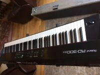 Roland RD 300 SX WITH Hard Case. 88 note multi sampled piano. Fully weighted keyboard.
