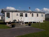 Luxury 3 bed 8 berth static caravan on Haven's Littlesea site Weymouth