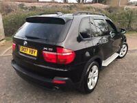 2007 BMW X5 3.0 30d SE 5dr Automatic @07445775115 7SEATR+PANROOF+SATNAV+Warranty