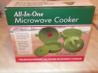 ALL IN ONE MICROWAVE COOKER