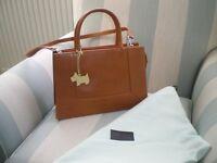 Radley brown leather handbag