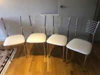 Set of 4 chairs for sale (can also sell individually)