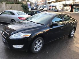 Black 2008 Ford Mondeo Diesel with Fresh 1 year MOT included