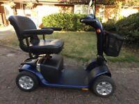 pride colt plus 4mph blue (mid) excellent condition cover / bag / charger