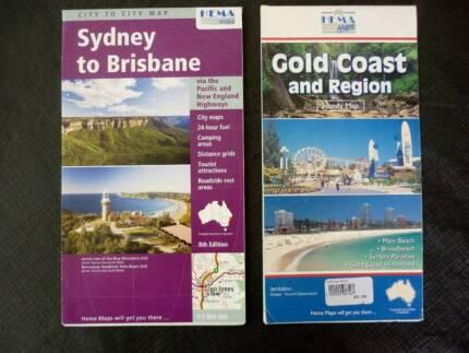 Road Maps - Sydney to Brisbane & Gold Coast by RACQ