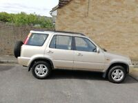 2000 AUTOMATIC HONDA CR-V, GOOD RUNNER AND VERY RELIABLE. 2 PREVIOUS OWNERS