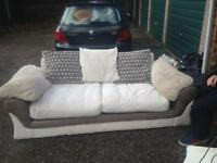 Three seater sofa in v.g.c