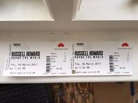 Russell Howard Tickets (3rd Row!)