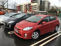 Toyota Prius TSpirit Leather Seats, 2012 PCO ready, For Rent/Hire, £130 Also 7 Seater MPV available