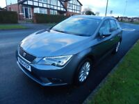 2014 (64) SEAT LEON SPORT TOURER 1.6 TDI SE 5 DOOR - 1 OWNER EXCELLENT CONDITION - FREE ROAD TAX !
