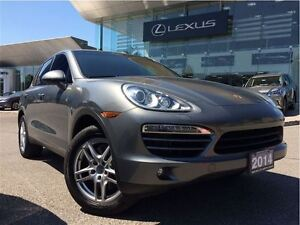 2014 Porsche Cayenne Turbo Diesel AWD NAVIGATION LEATHER SUNROOF