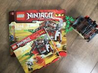 LEGO NINJAGO 2508 BLACK SMITH WITH ORIGINAL BOX AND INTRUCTIONS