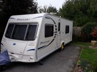 Bailey Pageant Sancerre Series 7 2010, single axle, motor mover, and awning