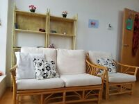 2 seater sofa with 2x armchair in good conditions