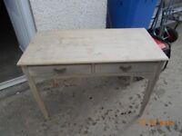 vintage 2 drawer table