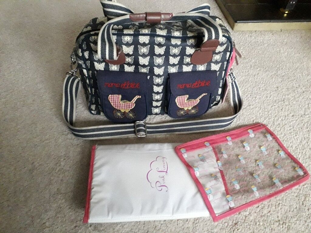 abeb35aab7825 Pink lining mama et bebe changing bag | in Maidstone, Kent | Gumtree