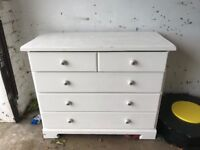 Upcycled chest of drawers- solid wood