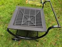Outdoor Garden Patio Fire Pit with BBQ Grill