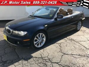 2004 BMW 3 Series 330Ci, Automatic, Leather, Convertible