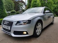 AUDI A4 2.0 TDI SE FULL AUDI SERVICE HISTORY LONG MOT PERFECT CONDITION 1OWNER FROM NEW