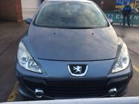 PEUGEOT 307 GREY 5 DOOR GAS-Bi-Fuel PETROL 2005
