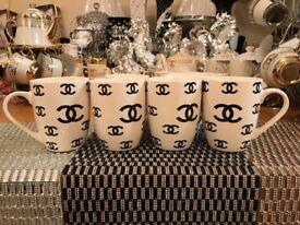 Set of 6 Stylish mugs