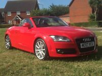 Audi TT 3.2 V 6 Quattro Roadster Convertible Full Service History with Brand New service