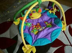 Beanstalk monkey play mat & gym