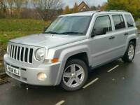 2008 JEEP PATRIOT 2.0 CRD*LIMITED EDITION*FSH*LEATHER*H/SEATS*#SUV#CRV#RAV4#X-TRAIL#LANDROVER