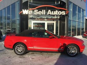 2012 Ford Mustang Convertible RWD *LEATHER *TRACTION CONTROL