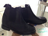 jodphur boots size 5 worn once - Allergic to horses