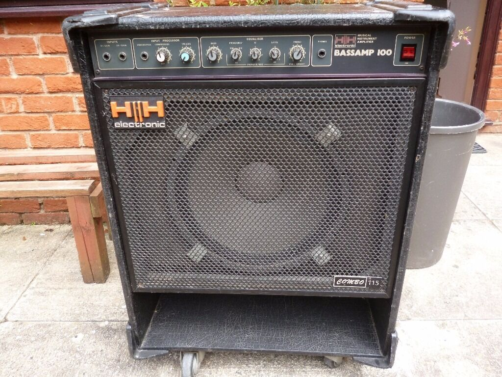 hh vs 115 100 watt pro bass amp in colyton devon gumtree. Black Bedroom Furniture Sets. Home Design Ideas