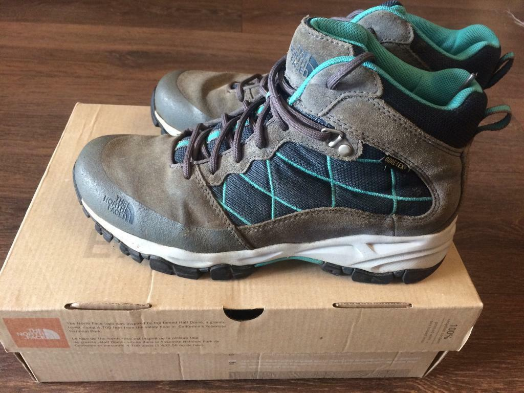 North Face Ladies Tempest Mid GTX Boot/Shoe Size 6.