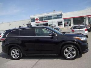 2014 Toyota Highlander hybrid LIMITED CUIR TOIT PANORAMIQUE NO A