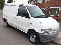 Nissan Vanette Cargo 2.3D Panel Van £599 no VAT low mileage 2001 (51 reg), Panel Van