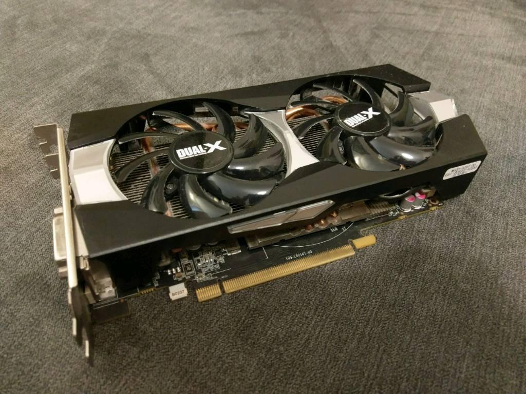 Sapphire R9 270X 2GB Graphics card Dual-X OC GPU