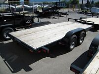 2014 Snake River 16' Competitor car trailer 10000GVWR