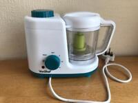 Vonshef 2 in 1 baby food maker (steamer & blender)
