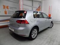 Volkswagen Golf SE TSI BLUEMOTION TECHNOLOGY DSG (silver) 2014-04-14