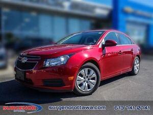 2014 Chevrolet Cruze 1LT  - $102.27 B/W  - Low Mileage