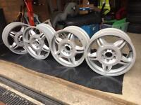 "BMW E36 M3 17"" alloy wheels"