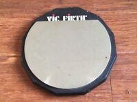 """Wokingham Drum Sales - Vic Firth 6"""" Practise Pad"""