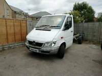 Mercedes sprinter 311 ready to make recovery