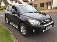Toyota RAV4 2.2d4d xtr 6 speed 08reg top spec fsh 1 owner