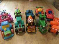 Large wheeled toys