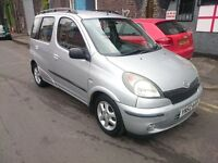 2002 TOYOTA YARIS 1.3 VERSO...FULL HISTORY...1 OWNER FROM NEW