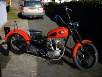 BSA C15 CHOPPER/ BOBBER,NOT TRIUMPH,NORTON,AJS,