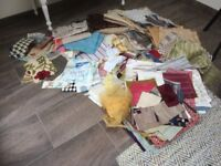 Remnants - large assorted pieces of material