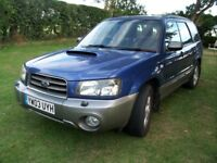 Subaru Forester XT auto 2003 85,000 miles, MoT until August 2019