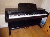 Yamaha Clavinova CVP-92 Digital Piano Full size 88 keys graded hammer action and excellent sounds.